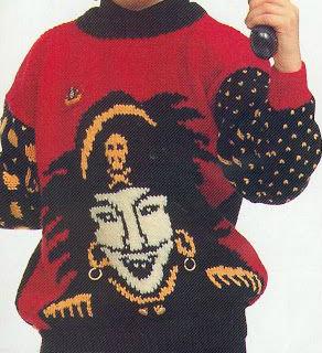 oppskrift på kaptein sabeltann genser