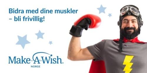 MAKE A WISH FÅR ØNSKER OPPFYLT!