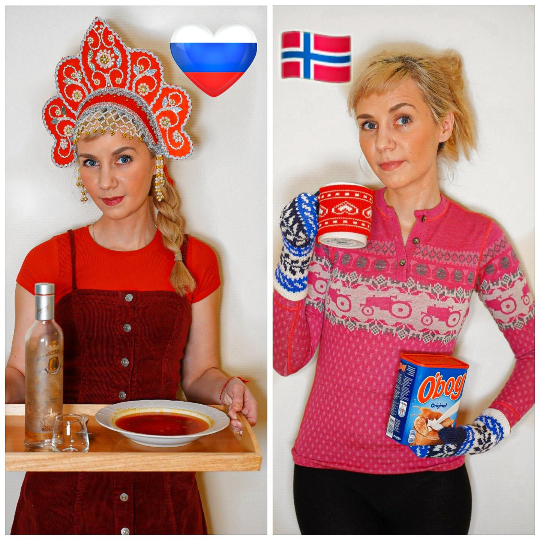 russisk vs norsk