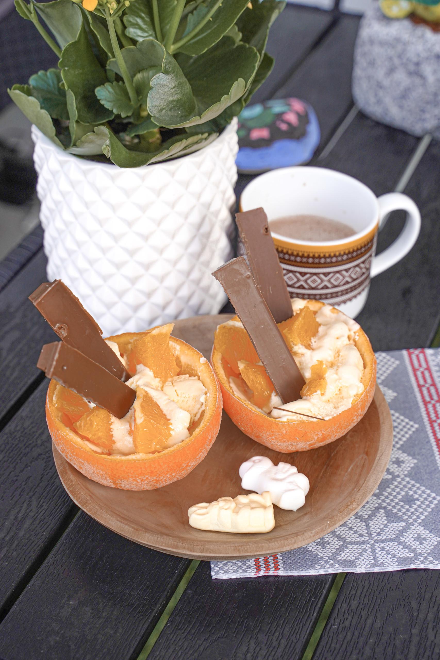 appelsin dessert