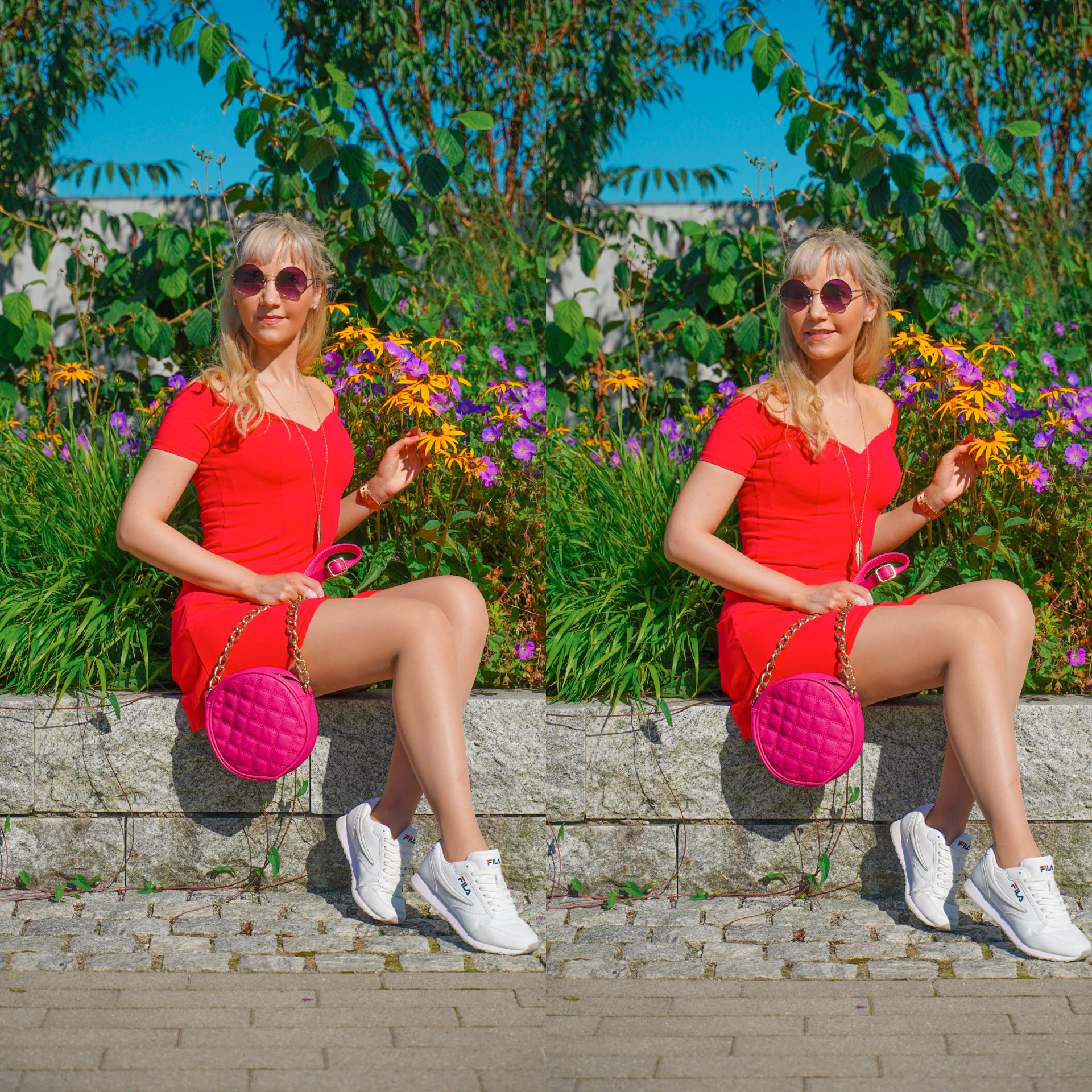 outfit rosa kjole sandnes