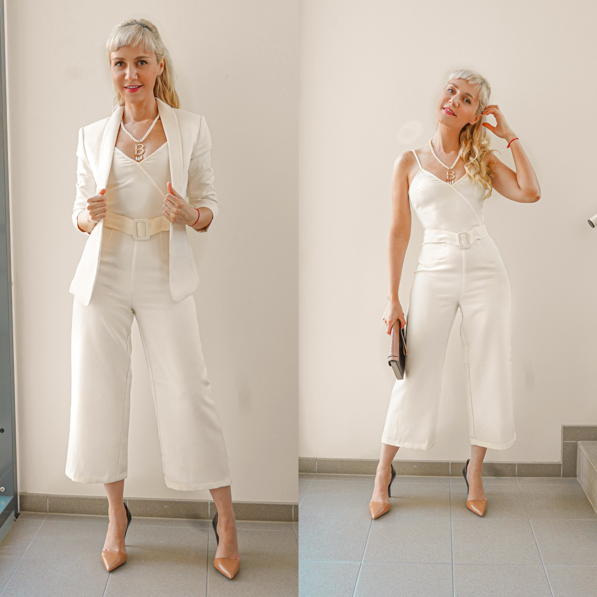 whites jumpsuit