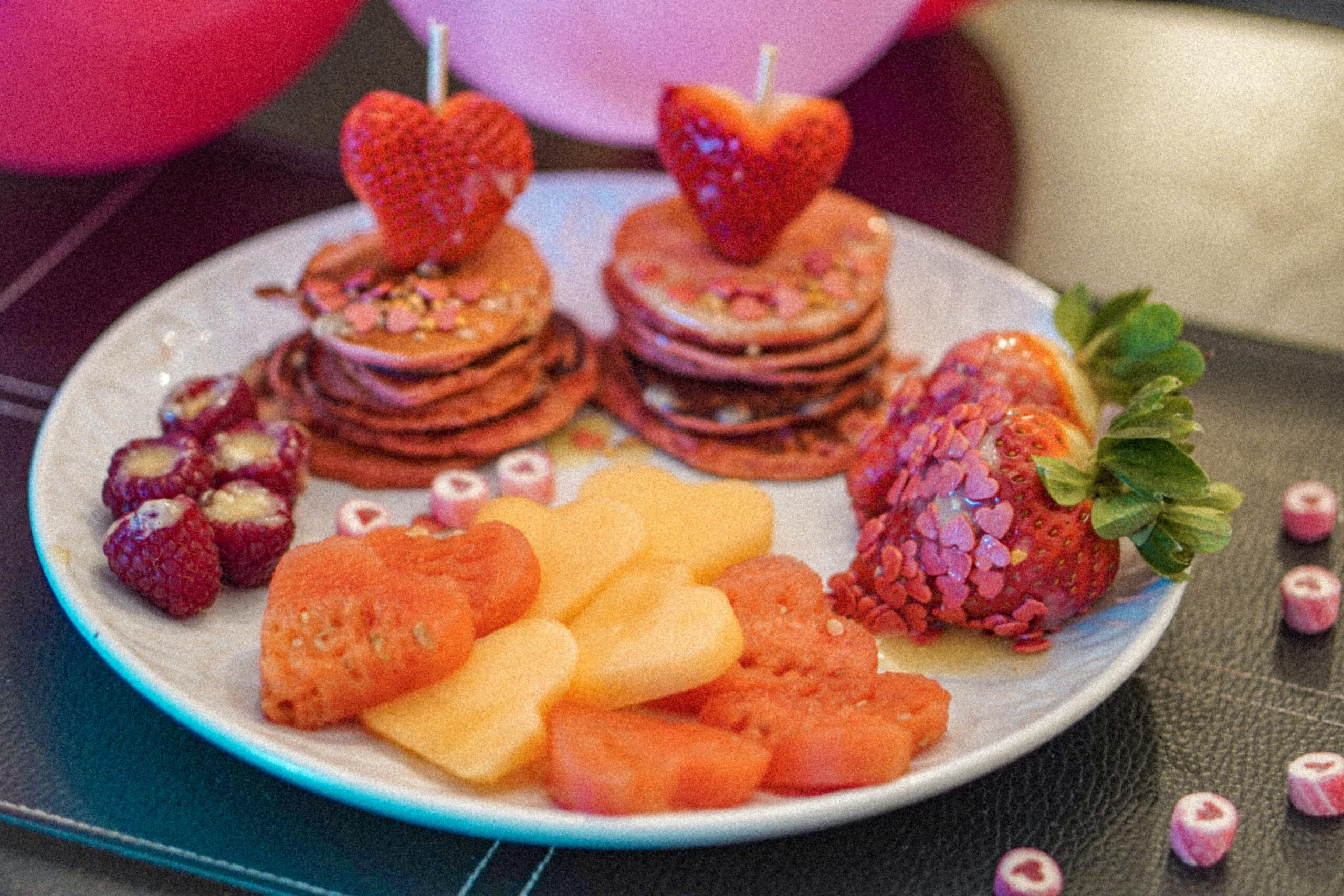 valentines frokost