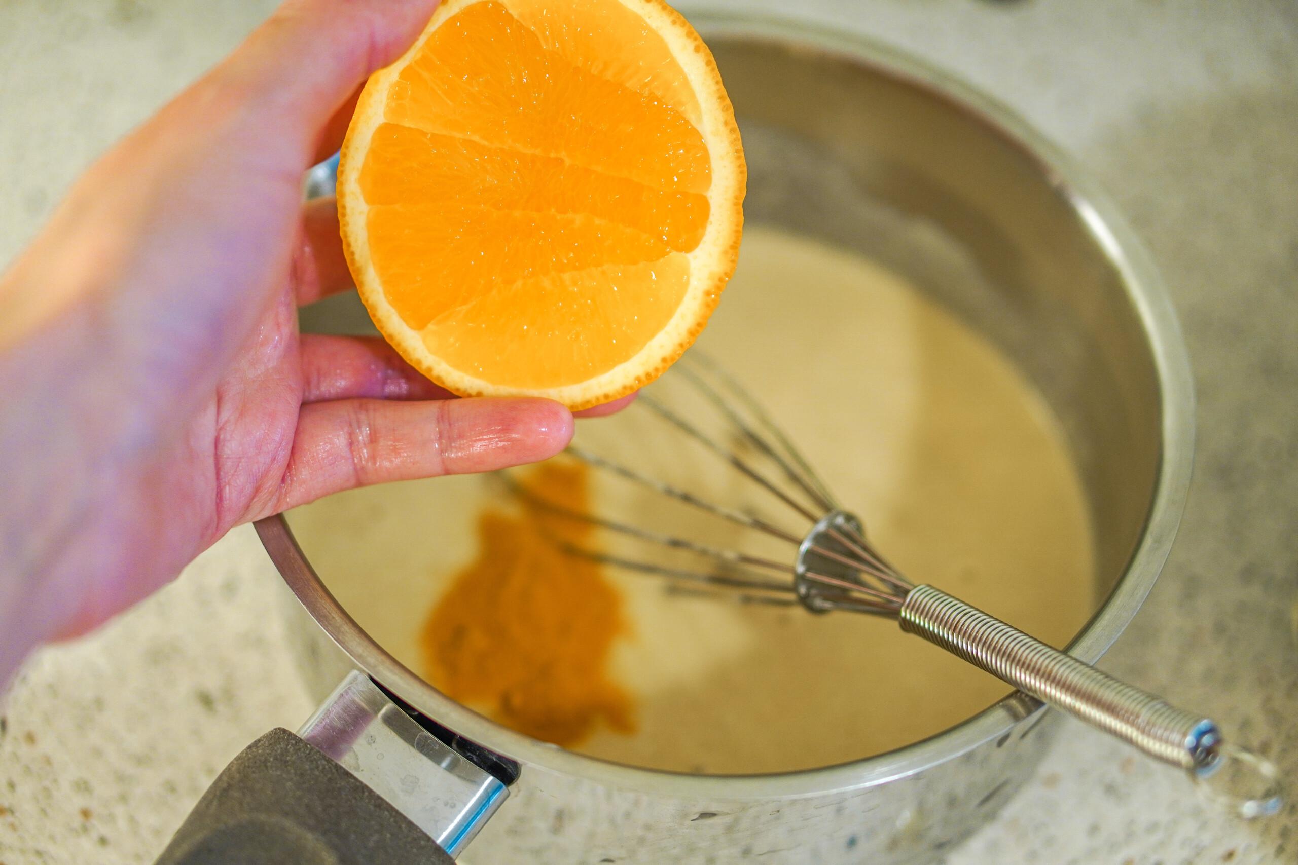 Appelsin vafler