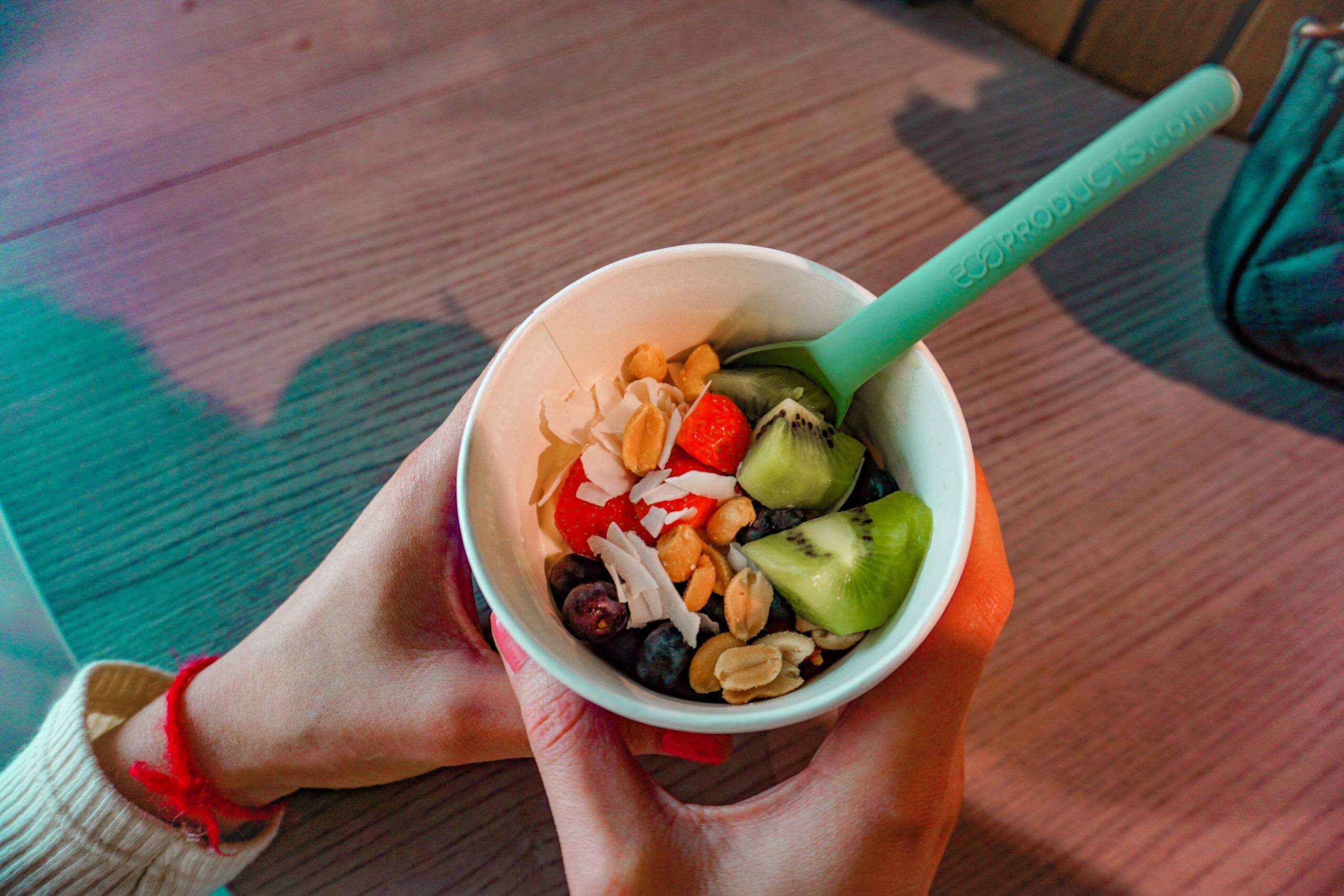 frozen youghurt