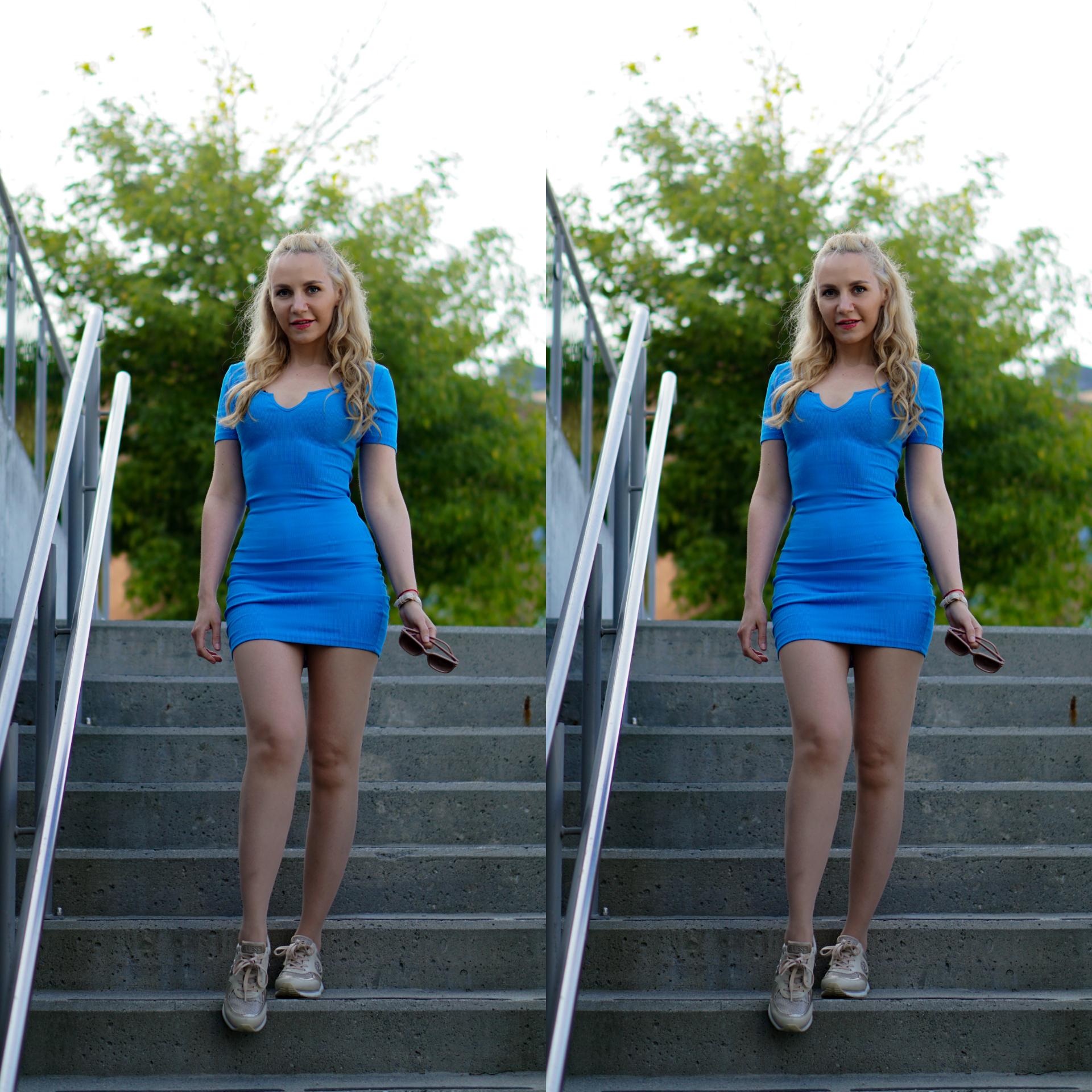 blå kjole stavanger