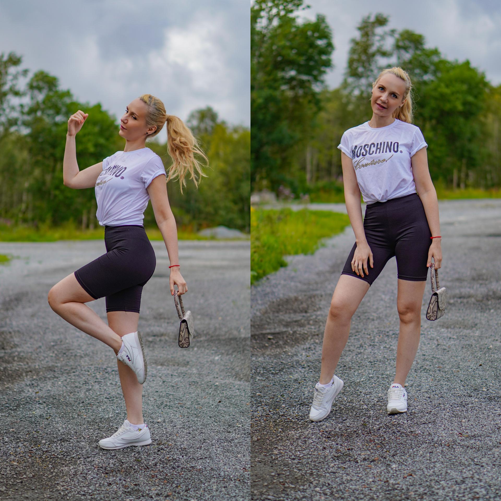sporty shoot