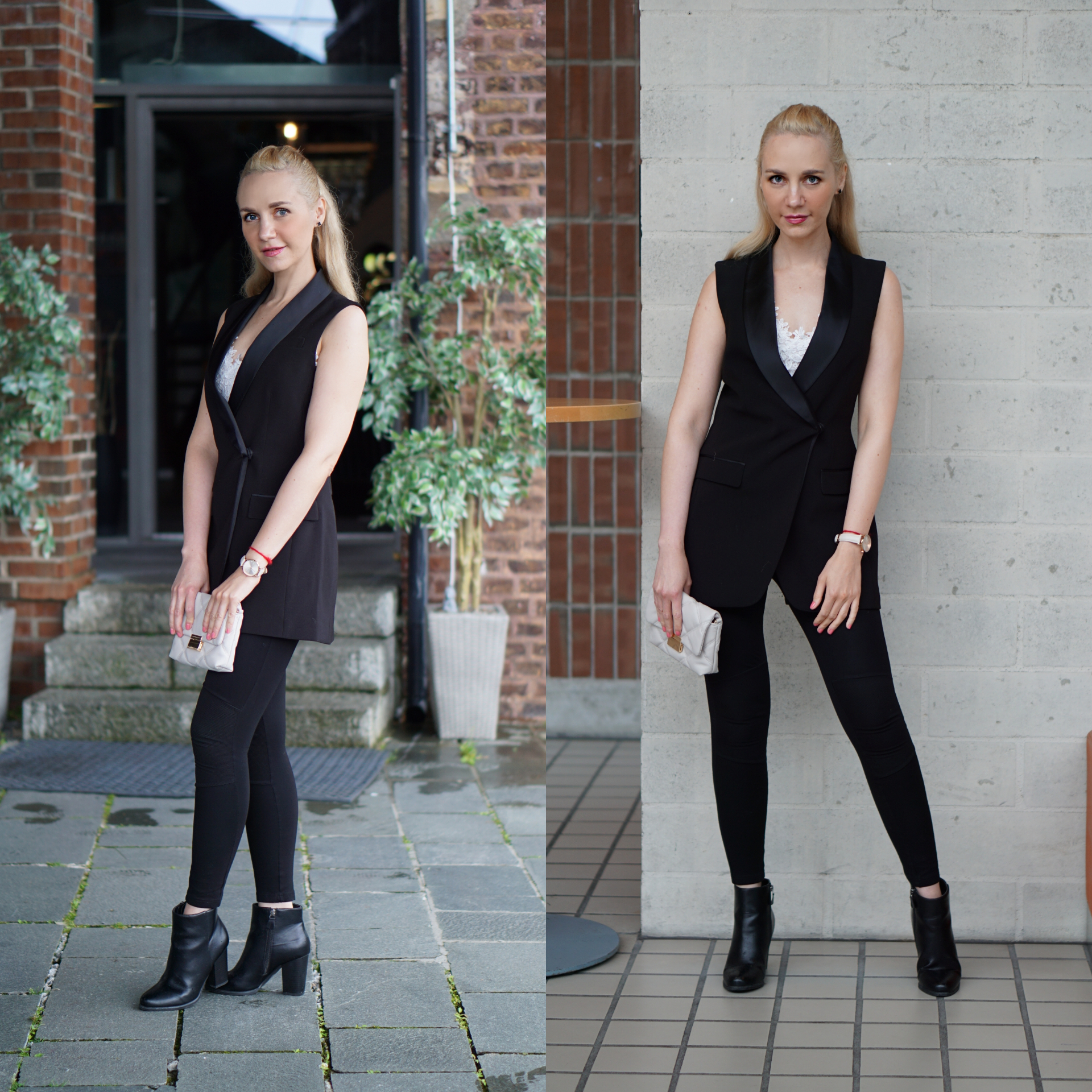svart dress
