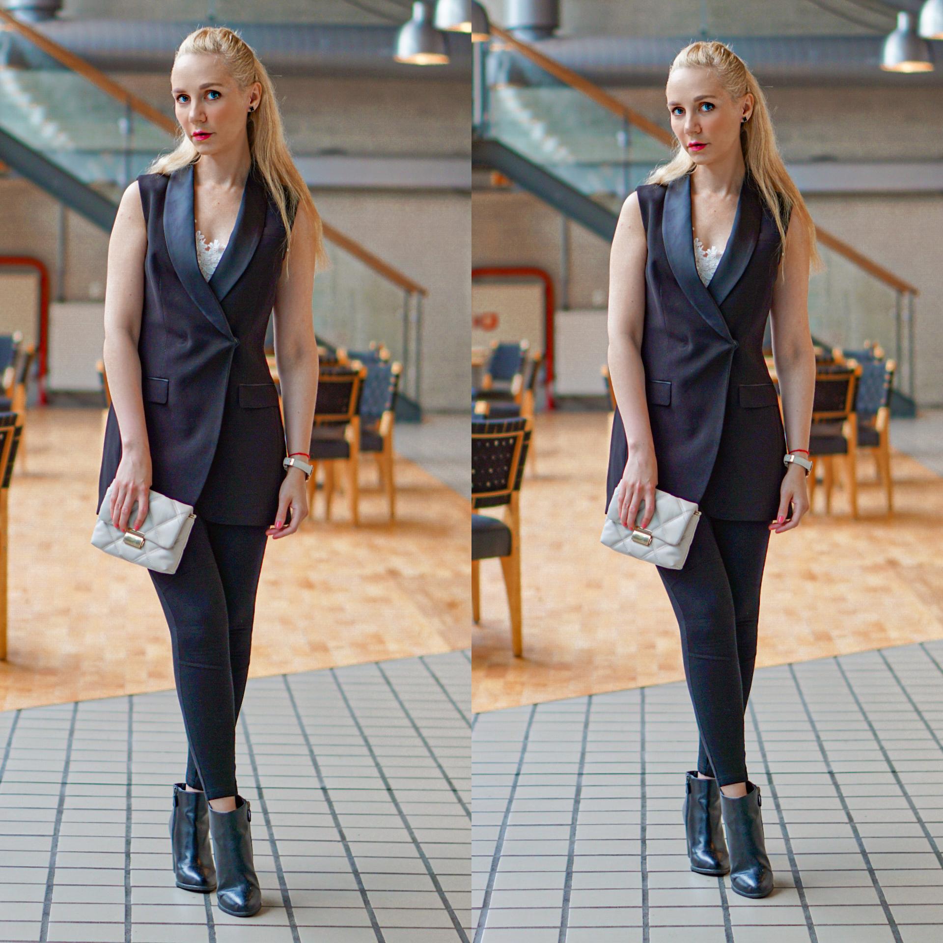 roya sandnes svart dress