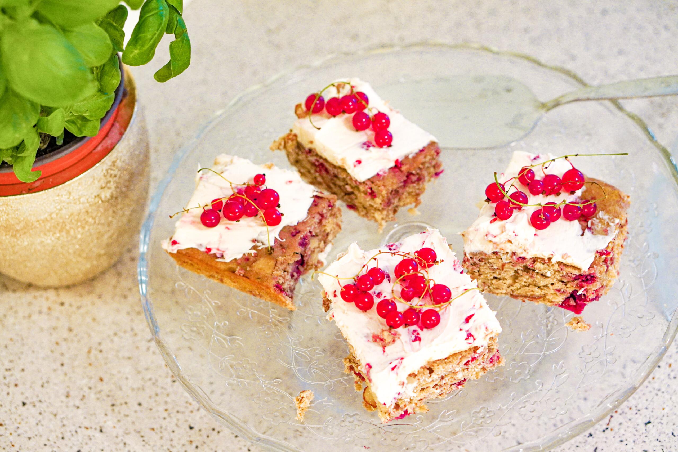 bringebær kake