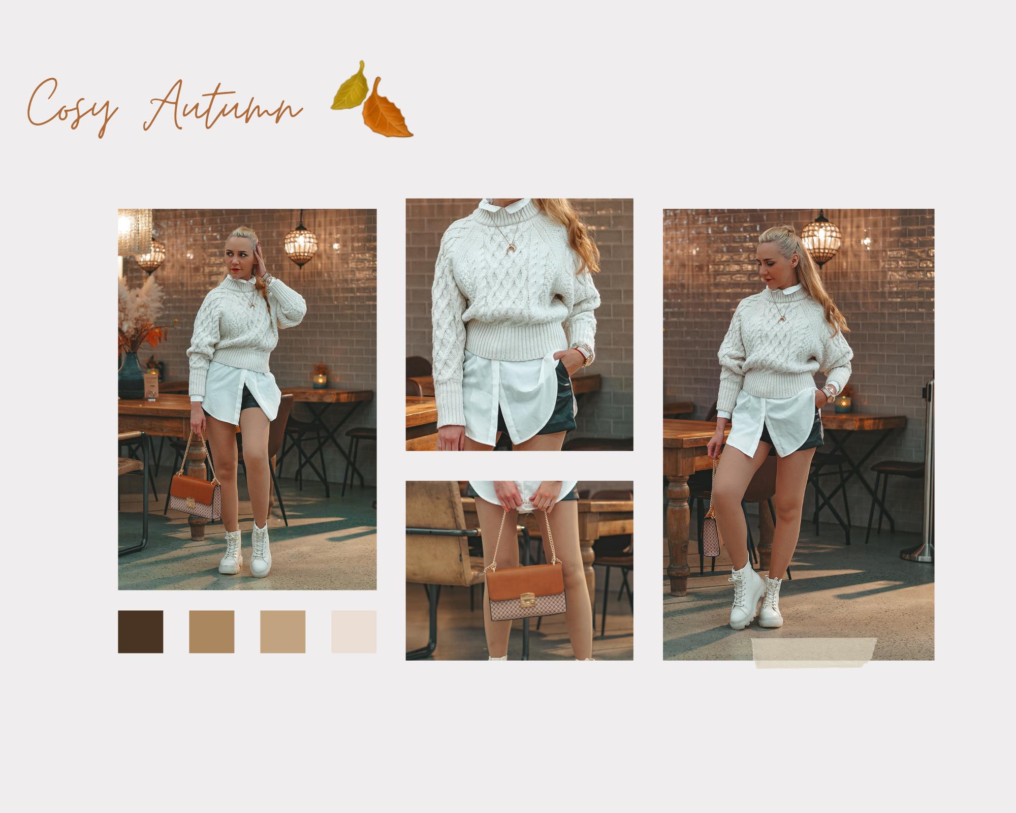 hvit genser outfit