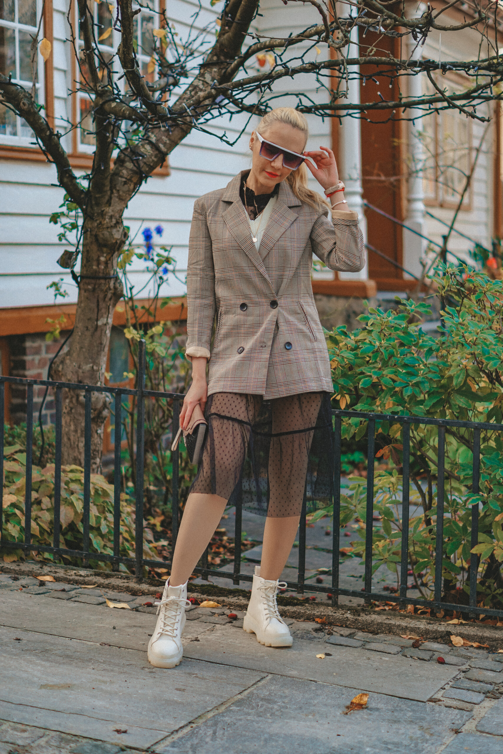 høst outfit blazer