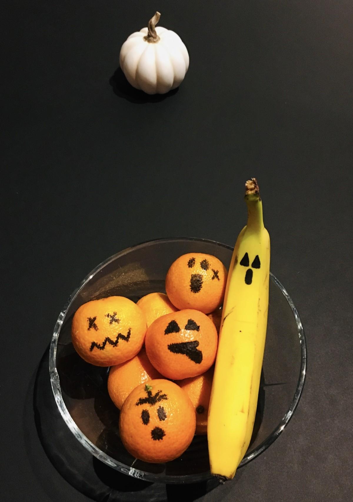Sunn halloweensnacks