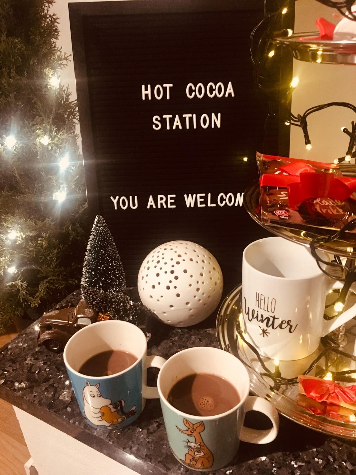 DIY kakaostasjon
