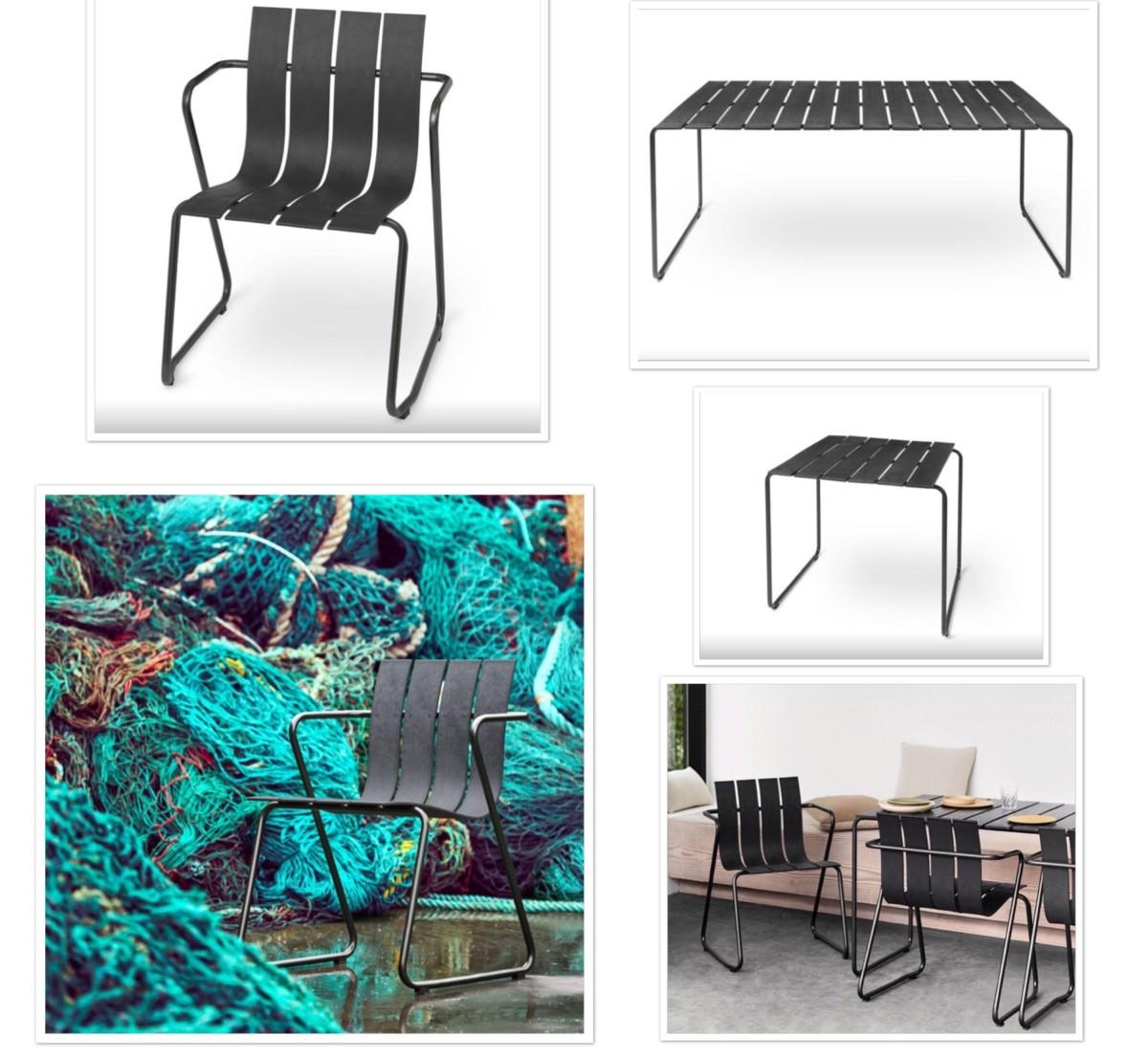 Bærekraftig hagemøbler