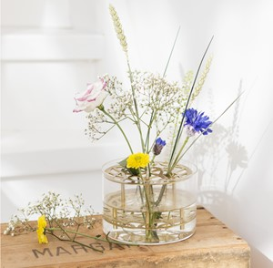 Blomster dåpsbord
