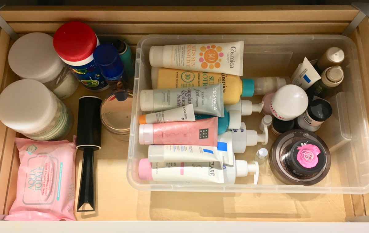 Organisering på badet