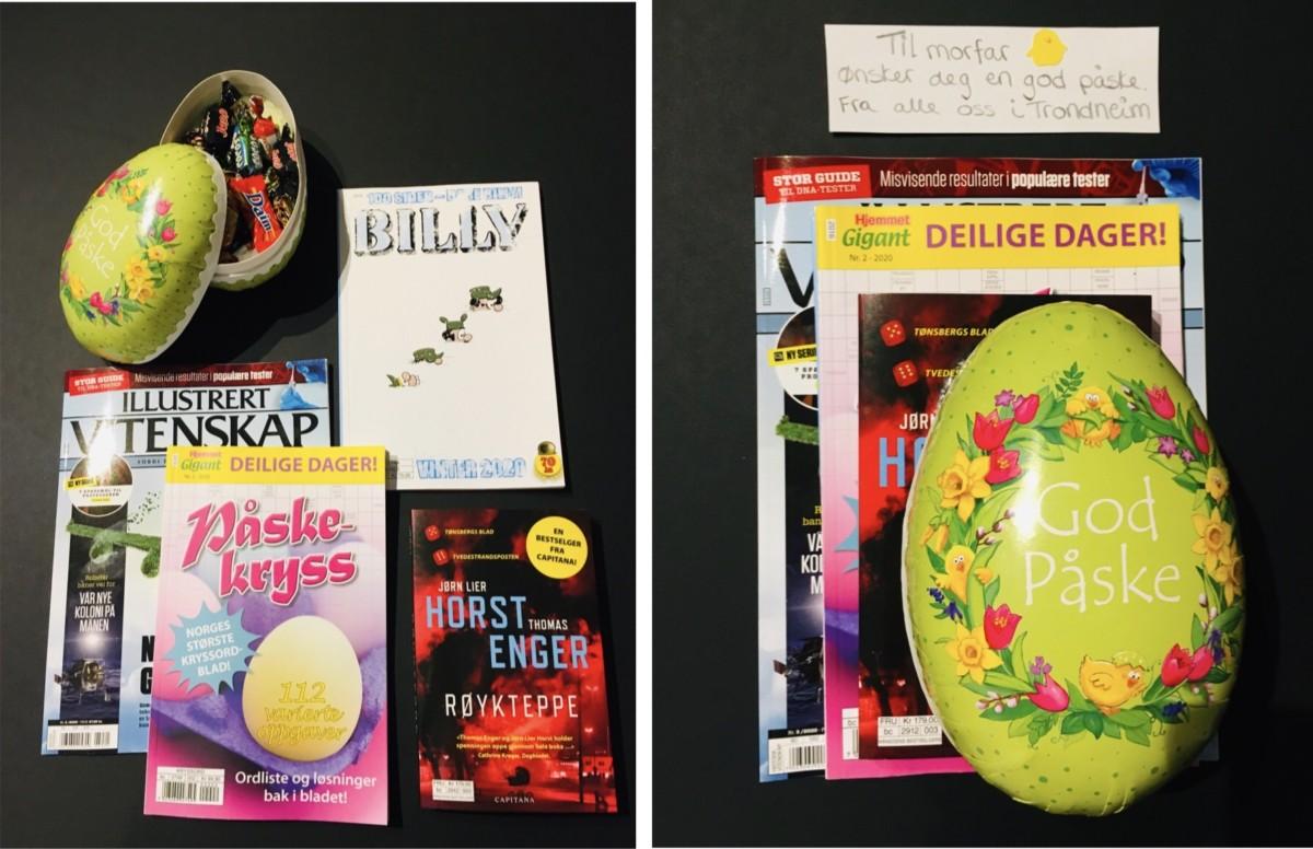 DIY påskekurv gi bort i gave