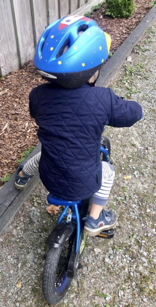 Lære barn å sykle