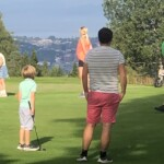 Golfbane i hagen