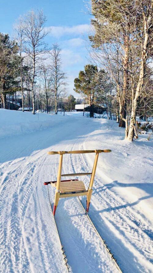 Aktiviteter i snøen