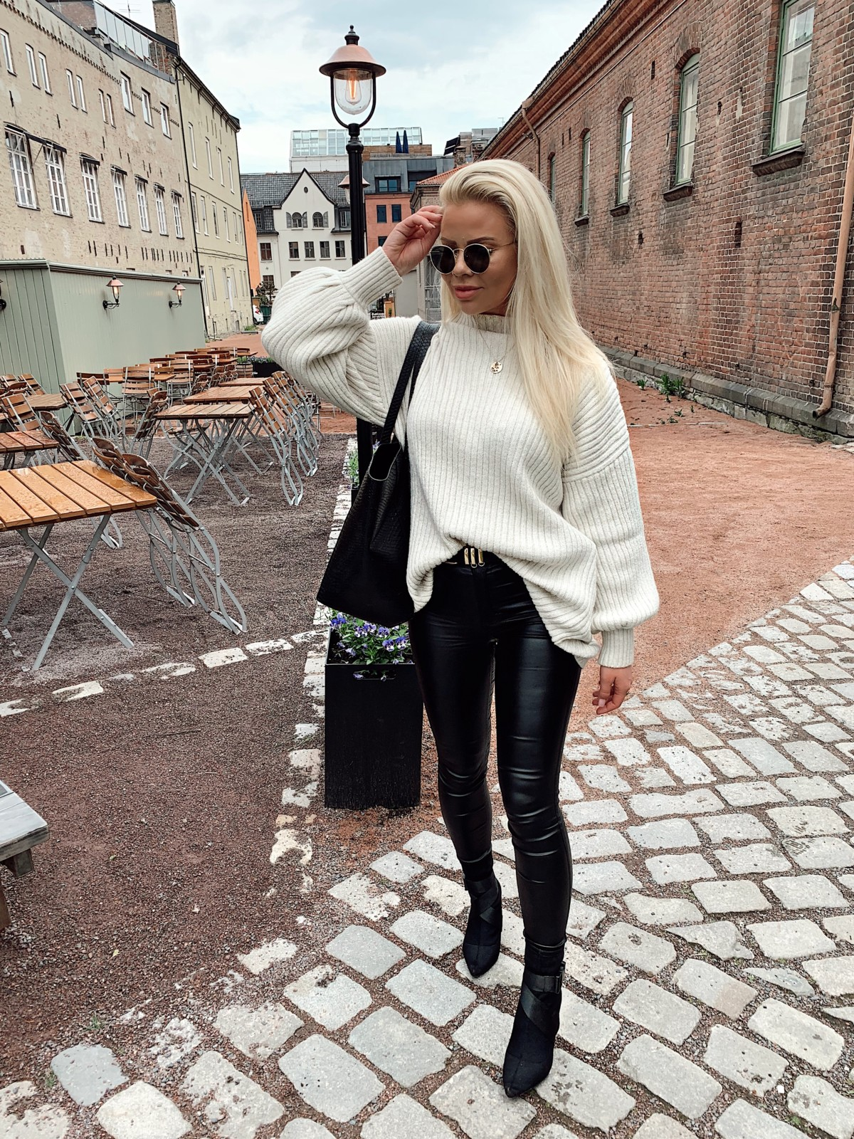 Zara genser med striper – Hjerte Fryd AS