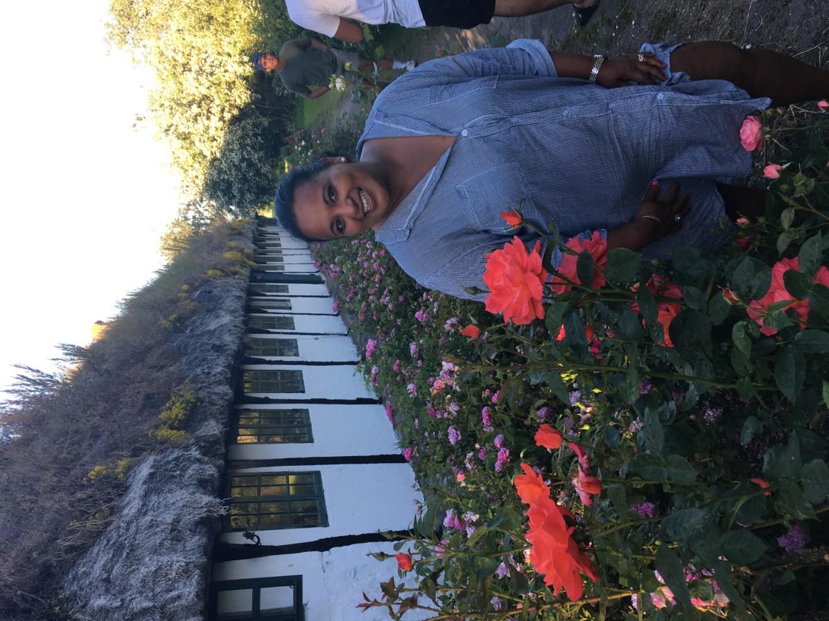 Meg i rosehagen på Læsø