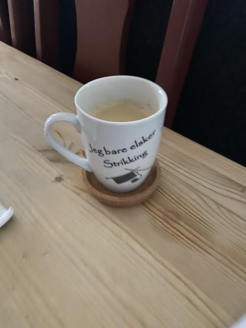 Fikk meg en fin kopp av en god kollega! Den brukes og brukes! 😍
