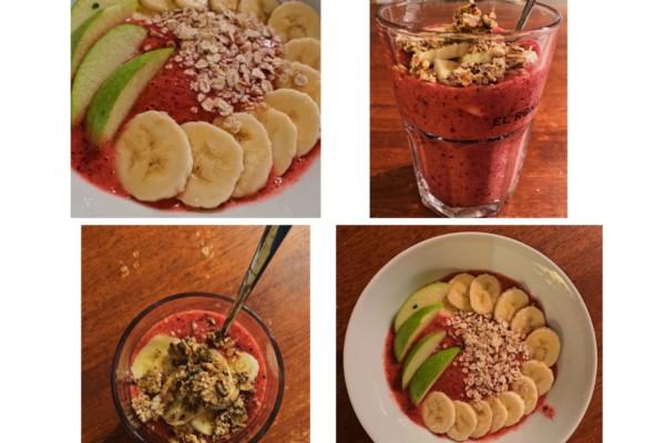 Frisk og god fruktsmoothie på 1-2-3