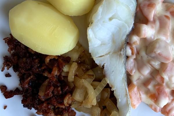 Boknafisk av Lofotskrei – et herremåltid!
