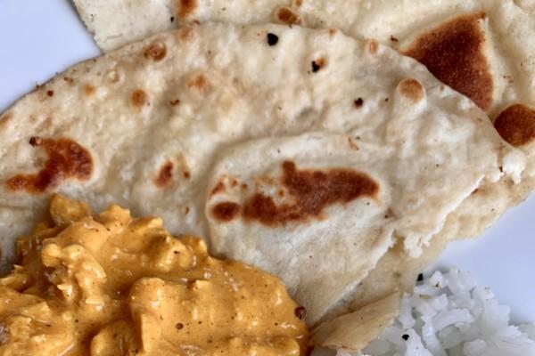 Nanbrød – Tradisjonelt Indisk brød på 2 måter. Oppskriften har jeg fått av en Indisk dame.