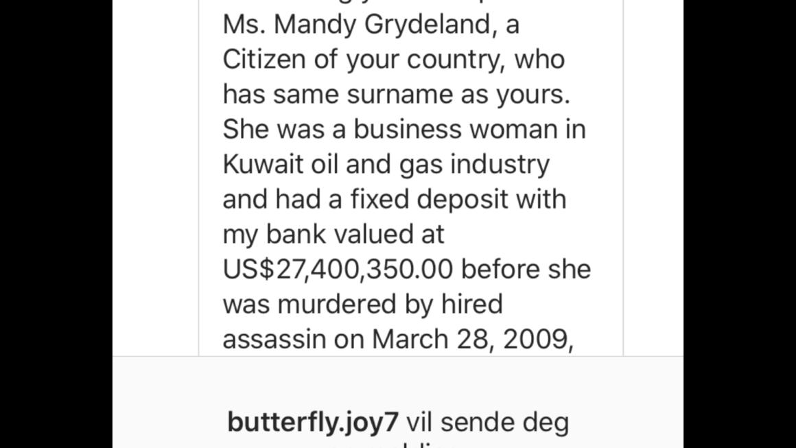 Drapsmysterium på en Norsk forretningskvinne i Kuwaits olje og gassindustri…