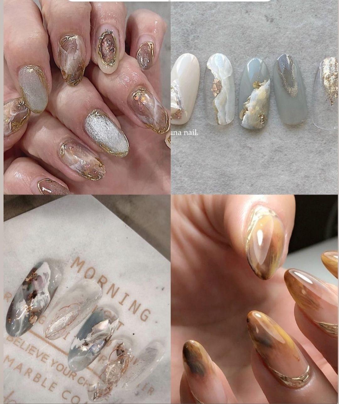 negler-negl-nails-nail-nailinspo-negleinspirasjon-inspirasjon-inspo-nailsinspo-nailinsporation-isalicious-isalicious.blogg.no-neglekunst-seashellnails-metallicmarble-pearlymarble-pearlynails