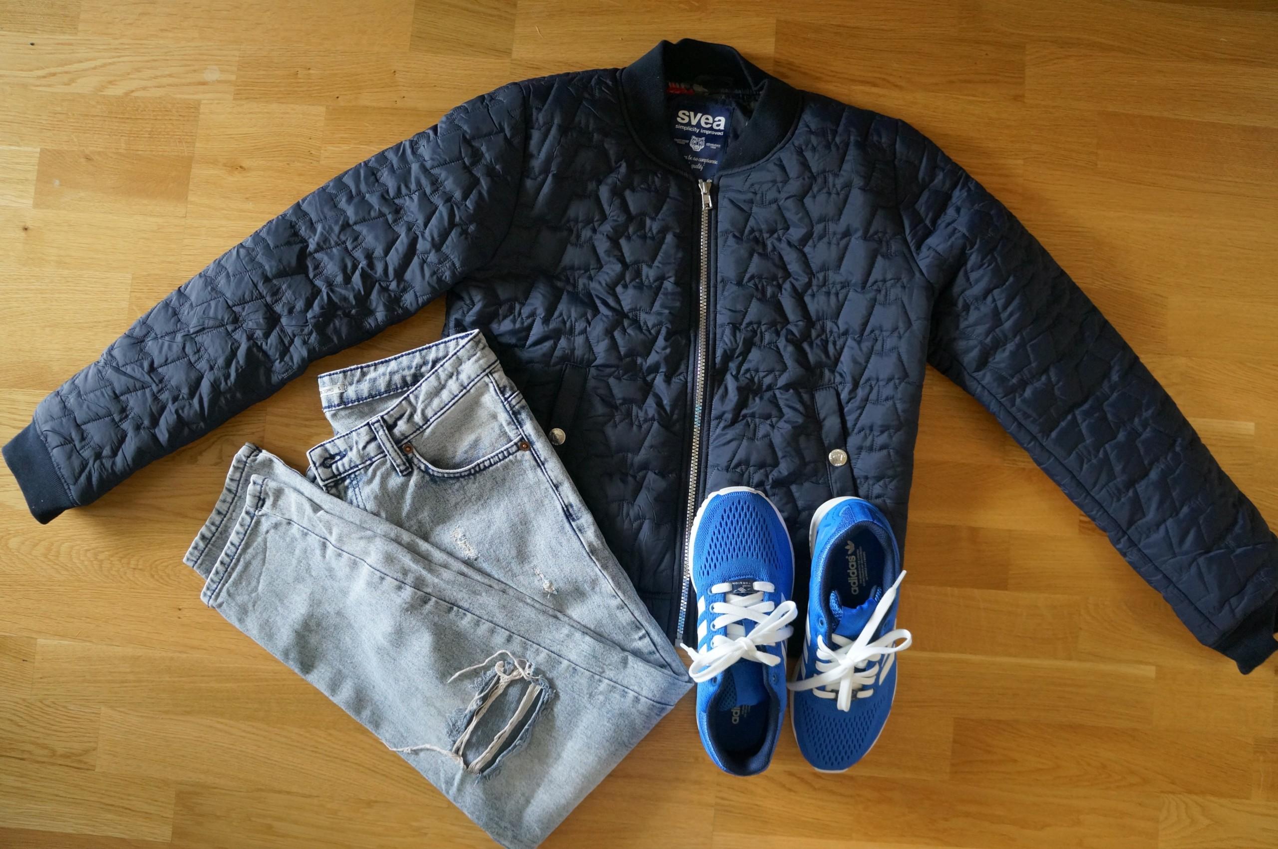 Gul jakke fra Zara Bloppis
