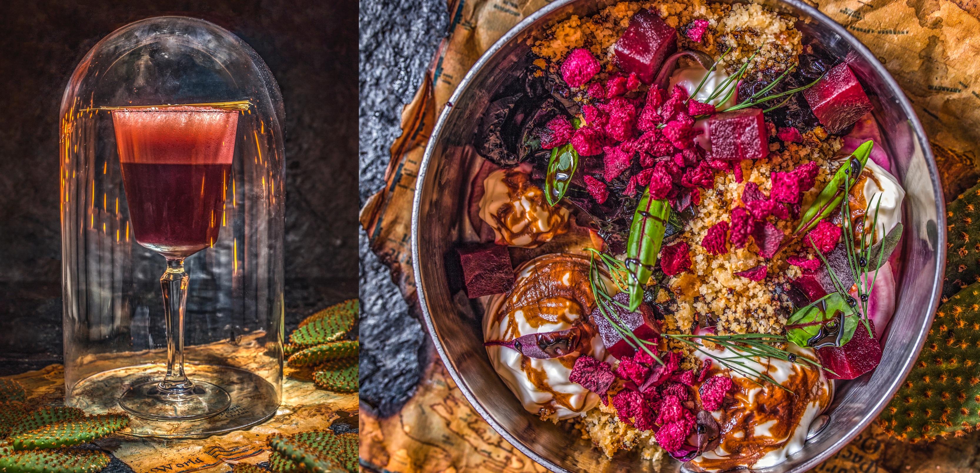 ''Våre reiser'' – Den nye menyen på ELIKSIR restaurant og cocktailbar i Gdansk