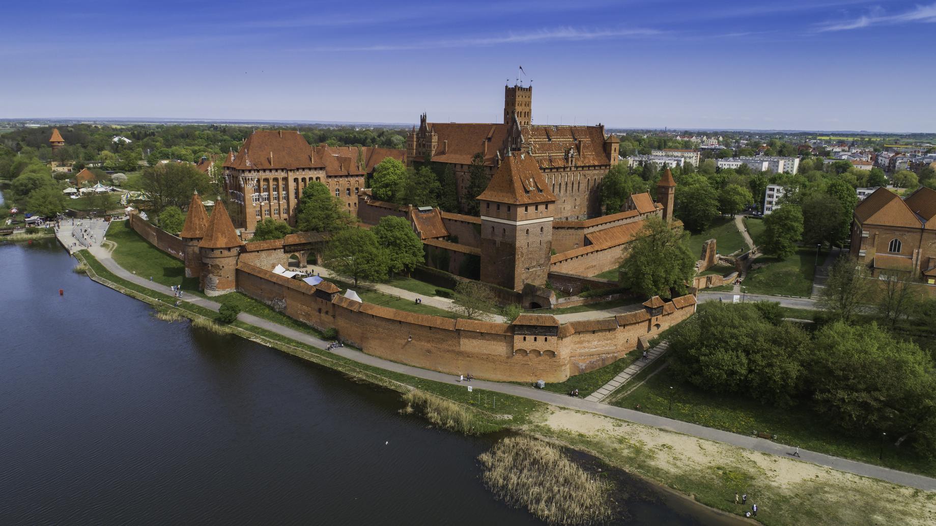 Mariaridderes spor i Polen