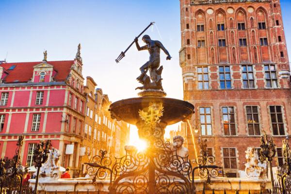 Neptunfontenen- et symbol på Gdansk