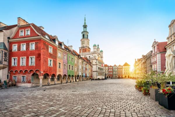 Shopping i Poznan