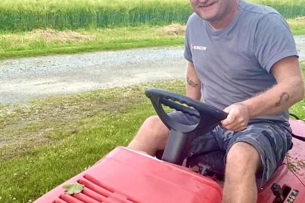 Når hagearbeid blir en utfordring!