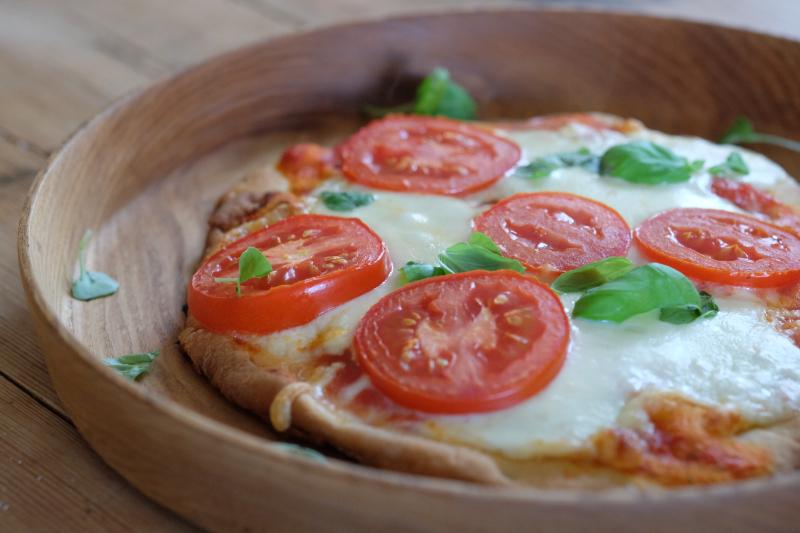 Nan-pizza