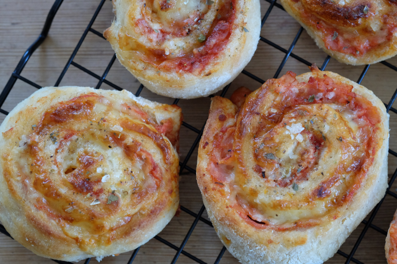 Pizzasnurrer (gluten- og laktosefrie)
