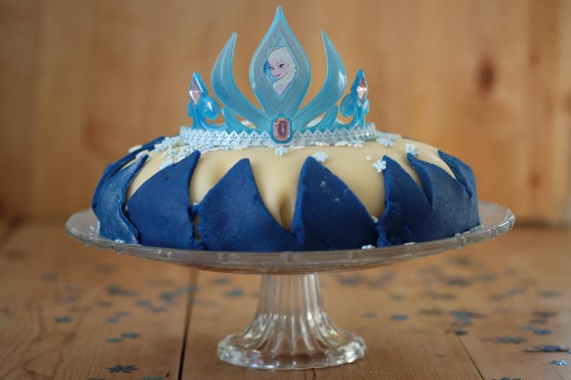 Elsa-kake på 30 minutter