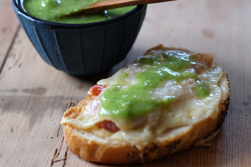 Ostesmørbrød – Croque Monsieur