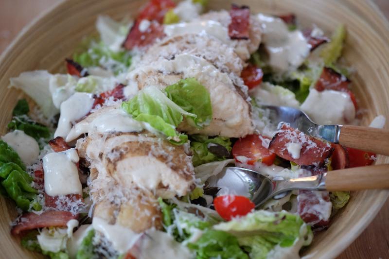 Lettere Cæsar-salat