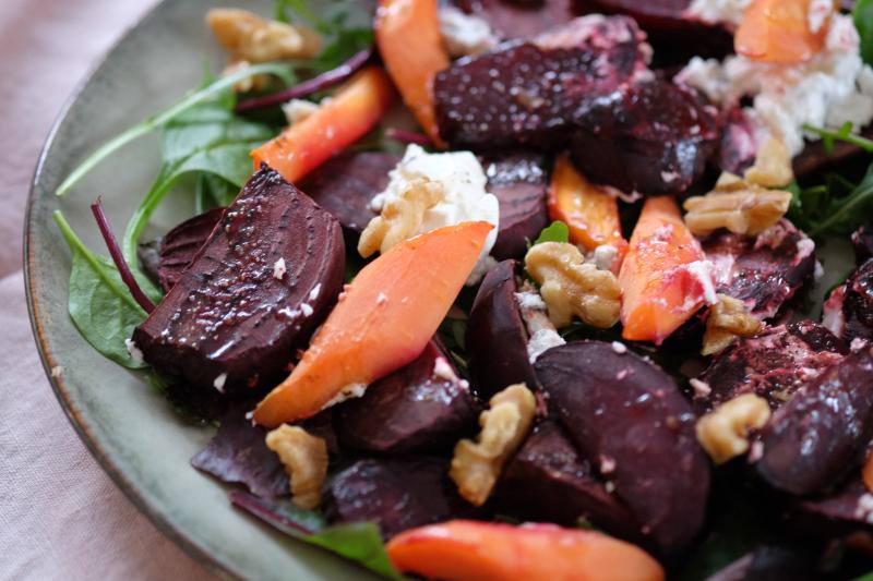 Rødbetsalat med chevre