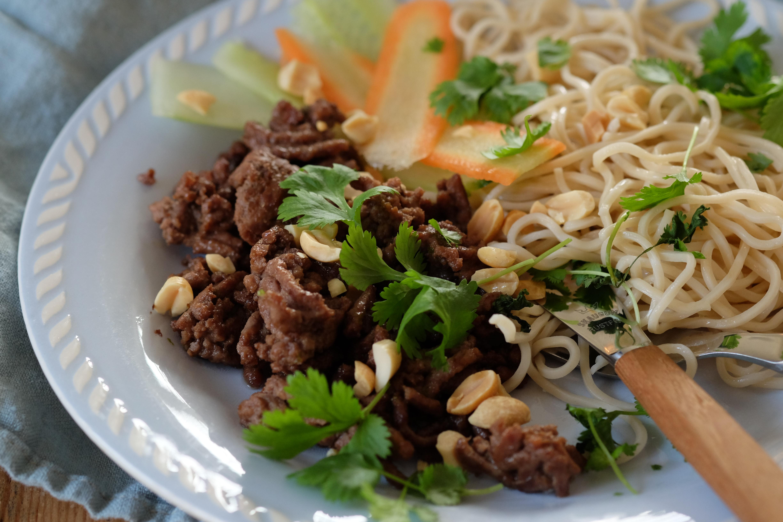 Kjappe nudler med asiatiske smaker