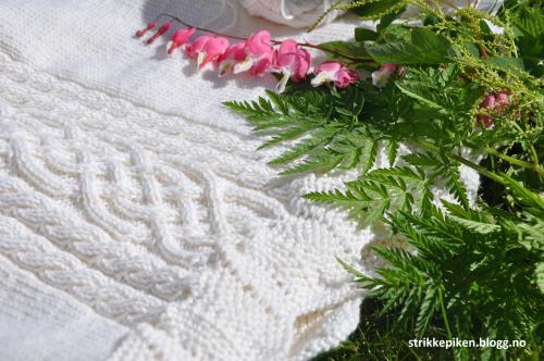 Tykk Varm Vinter Jul Bryllupsfest Strikket Patchwork Blonder Jenter Barn Kjole