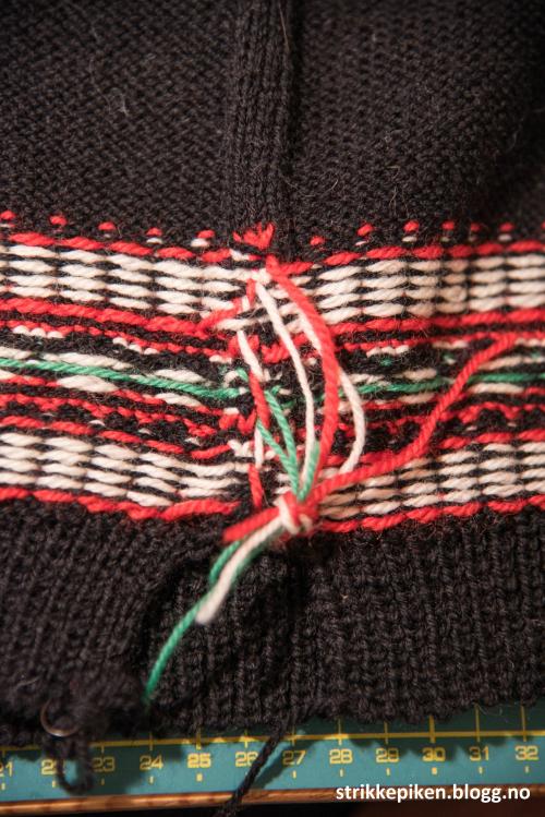 Hvordan feste tråder strikking
