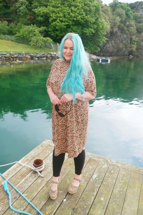 Oversize t-shirt kjole
