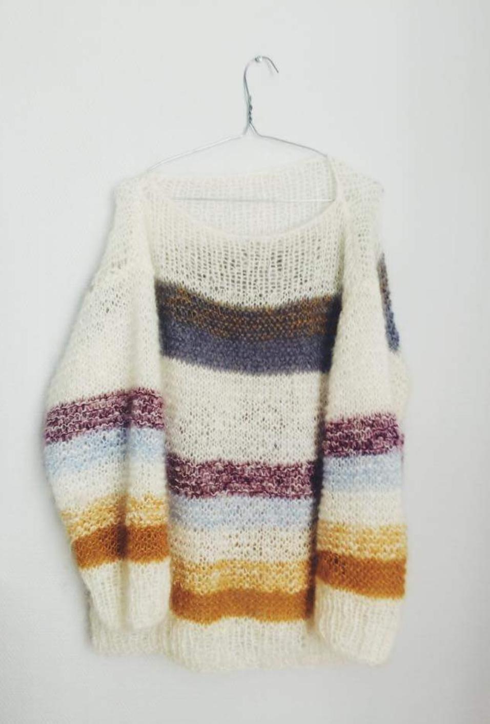 Line Langmo genser på 5 dager